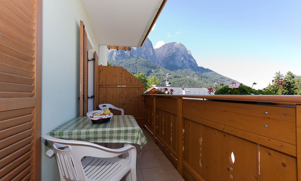 Apartments for your vacation in South Tyrol close to Alpe di Siusi