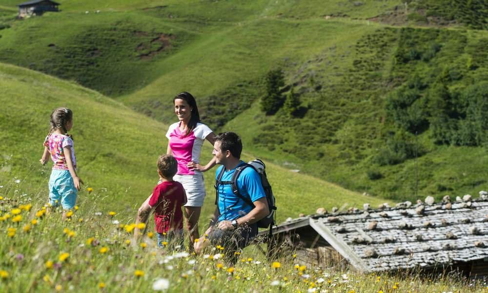 Appartamenti per vacanze escursionistiche sull'Alpe di Siusi